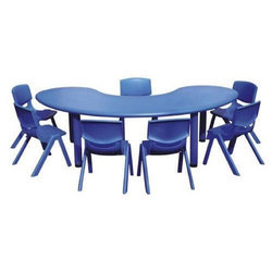 School Half Moon Table