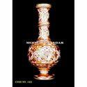 Handicraft White Makrana Marble Bottle Vase