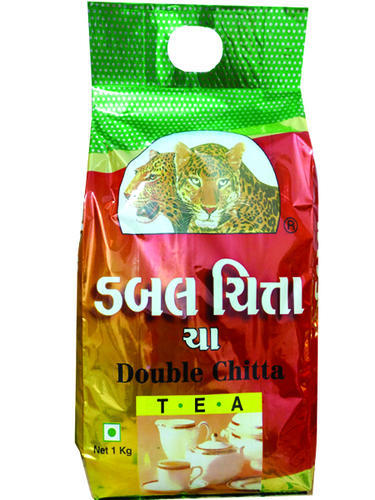 Tea Packing Double Chitta Tea 1 Kg Packing Packet