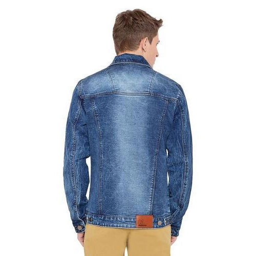 f340edba4ea Medium Regular Fit Mens Denim Jacket With Brass Button, Rs 1100 ...