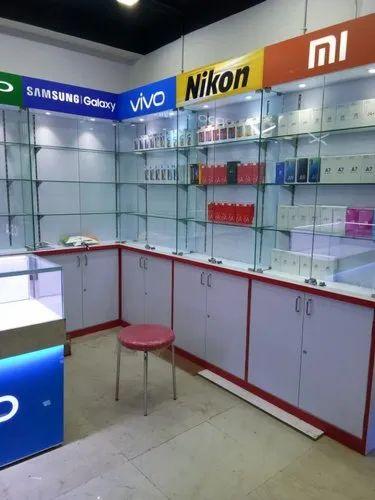 Mobile Shop Interior Design Service at Rs 850/square feet ...