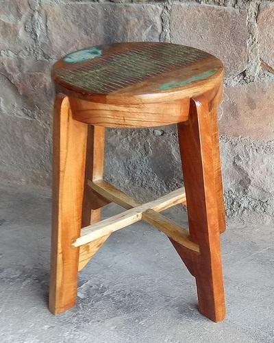 Remarkable Rustic Reclaimed Wood Stool Andrewgaddart Wooden Chair Designs For Living Room Andrewgaddartcom