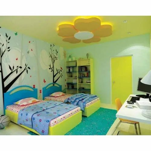 Kids Room Gypsum False Ceiling Services In Sector 18 Noida Shubh Home Solutions Id 12512363012