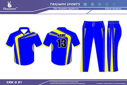 918a15b2c Cricket Club Uniforms - Cricket T Shirts & Pant Exporter from Ahmedabad