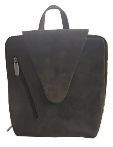 9f9f90e8b027d8 Male Dark Brown Genuine Leather Backpack, Rs 1500 /piece, Mon ...