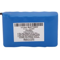 Li-Power Blue 11.1V 12.5Ah Solar Street Light Battery, Battery Type: Lithium Ion, Model Name/Number: AE25111125