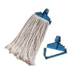 White, Blue Plastic Mop Set, For Floor Cleaning