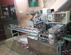 Horizontal Flow Wrapping Machine for Sambrani Packing