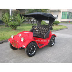 Battery Operated Electric Vintage Car