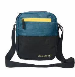 polyester Adjustable Black Wear sling bag, 90 Gm, Size: 9x11x2