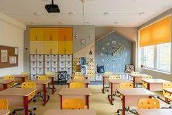 30 - 40 Days School Interior Designing Service