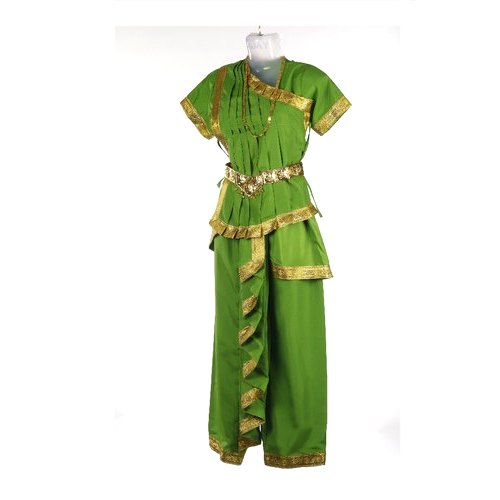 09e1ea726aee Green, Golden Odissi Costume, Rs 2099 /piece, Fairy Tales Creation ...