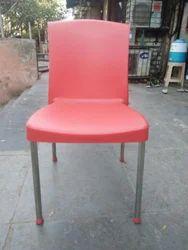 Steel Leg Plastic Chair