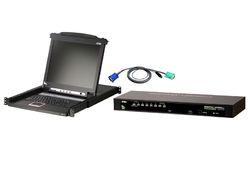 KVM Console 8 Port Switch