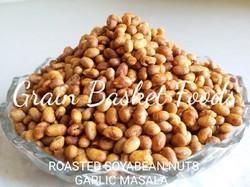 Garlic Masala Roasted Soyabean Nuts