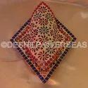 Deshilp Overseas Glass Mosaic Wall Lamp