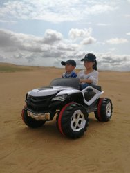 Battery Operated Double Seat Jeep