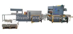 Hi-Speed Automatic Cartoon Box & Tray Shrink Wrapping Packaging Machines