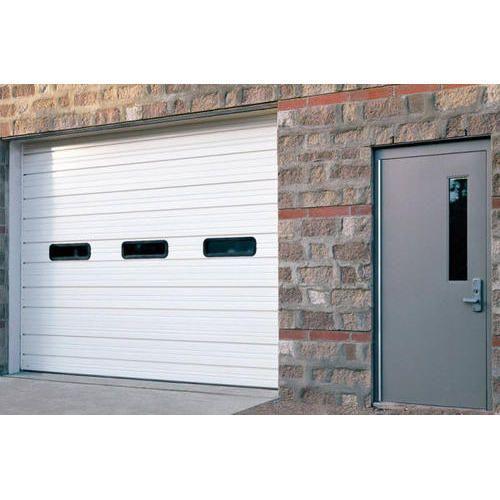 Sectional Steel Garage Door Doors And Windows Hercules Automation