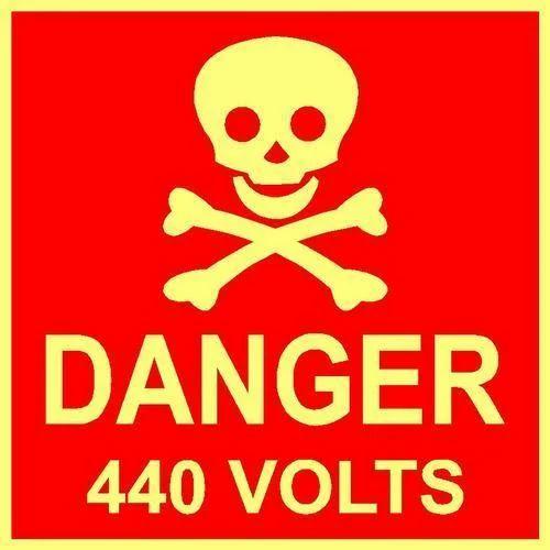 Signage Danger Board