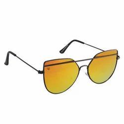 Black And Blue Sunglasses