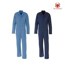Men Polyester And Viscose Overall Uniform