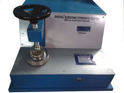 Motorized Bursting Strength Tester