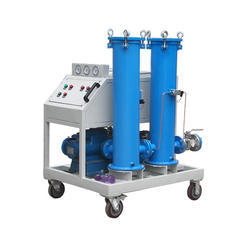 Portable Oil Filtration Plant