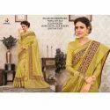 Rachna Art Silk Digital Printed Silkken Dobara Saree Catalog For Women 5