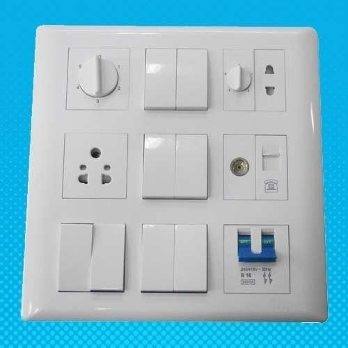 havells modular switch board at rs 30 piece electric switch