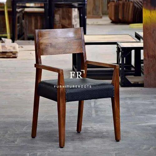 Restaurant Furniture Wooden Dining Arm Chair Restaurant Dining Chair Resort Hotel Furniture