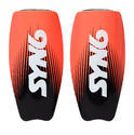 Syn6 Classic Shin Guards With Laser Printing, Size : S/m/l