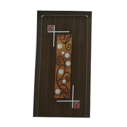 RE223 Bathroom Fiber Door, Design/Pattern: Printed
