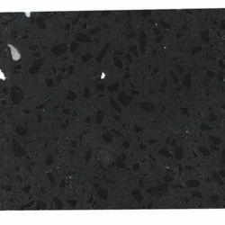Black Quartz Crystal Slabs