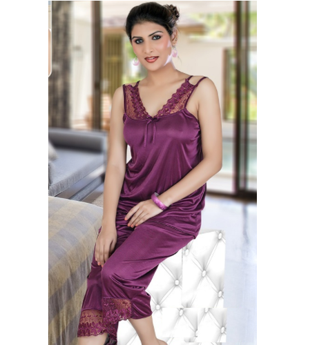 ff1e0d928 Ladies Night Dress - Trendy Six Piece Nighties Manufacturer from Ahmedabad