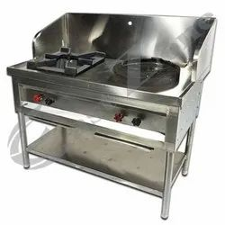 East Zone Stainless Steel Indian Chinese Range, For Restaurant