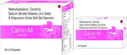 Methylcobalamin Calcitriol Calcium Citrate Maleate Zinc Oxide and Magnesium Oxide Soft Gel Capsules