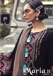 Deepsy Maria B Linen Pakistani Style Dress Material Catalog Collection