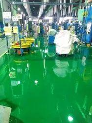 Industrial Epoxy Flooring Coating Service