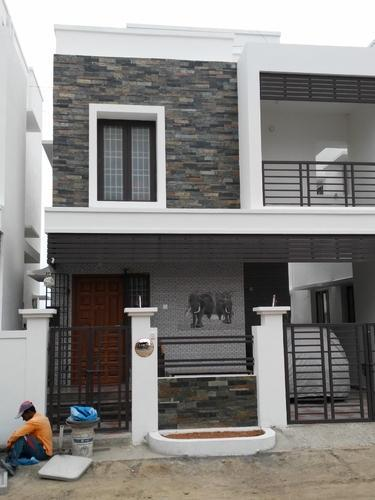 Front Elevation Ceramic Tiles : Front elevation slates tile mm rs square feet