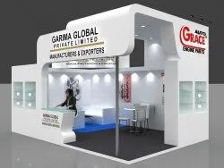 Ply Wood Decoration Exhibition Wooden Stall Designers, For Advertisement, Pan India