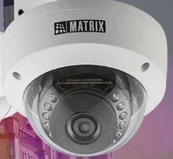Matrix Sataya 2MP IR Dome Camera With 2.8mm Lens With Audio, Max. Camera Resolution: 1920 x 1080, Camera Range: 10 to 15 m