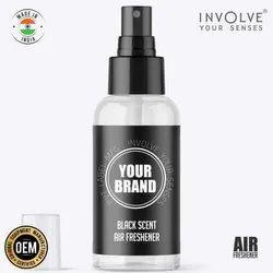 Private Label Black Scent Spray Air Perfume