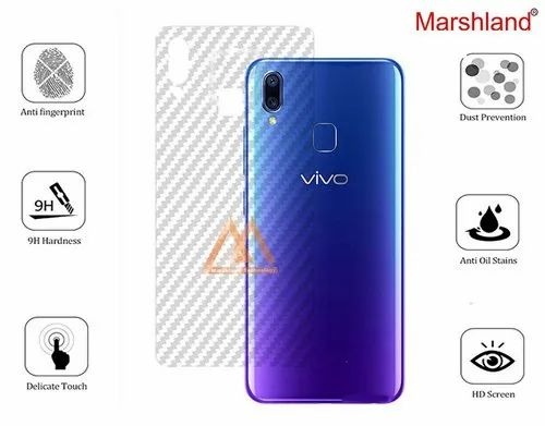 the best attitude affb5 d3e32 Marshland Vivo Y95 Back Screen Guard Flexible Protector Cover (transparent)