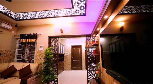 Ceiling With Light Designs At Rs 1250 Unit Small House Interior Design Aamphaa Projects Chennai Id 9826736955