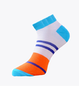 Multi Color 100% Combed Cotton Low Cut Ankle Socks