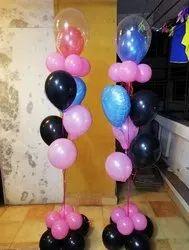 Helium gas balloon bouquet
