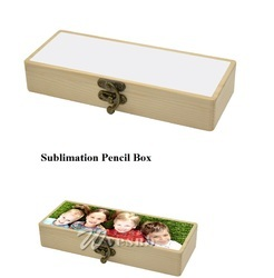 Sublimation Wooden Pencil Box