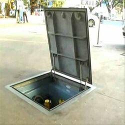 Hydraulic Manhole Cover
