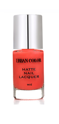 Urban Color pink and red matte nail lacquer, Pack Size: 9ml